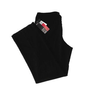 New Style & Co Black Pants Straight Leg Relaxed